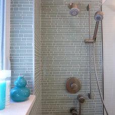 Contemporary Bathroom by Claudia Martin, ASID