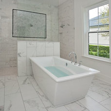 Transitional Bathroom by Woodsman Kitchens and Floors