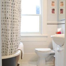 Eclectic Bathroom by Megan Buchanan