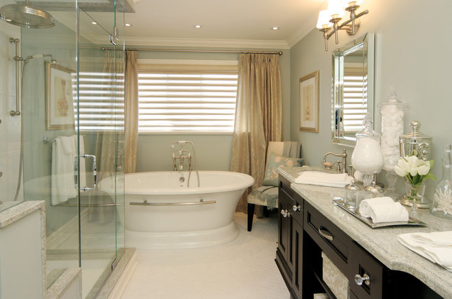 Contemporary Bathroom by Jennifer Brouwer (Jennifer Brouwer Design Inc)