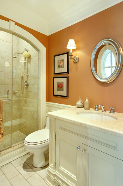 Traditional Bathroom by Jennifer Brouwer (Jennifer Brouwer Design Inc)