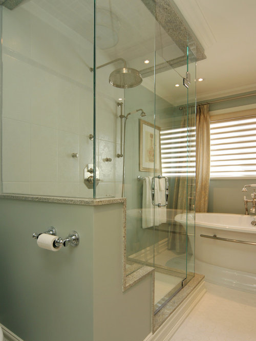Bathroom Knee Wall shower knee wall | houzz