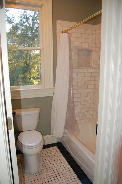 Traditional Bathroom by Jennifer Neal Design Studio