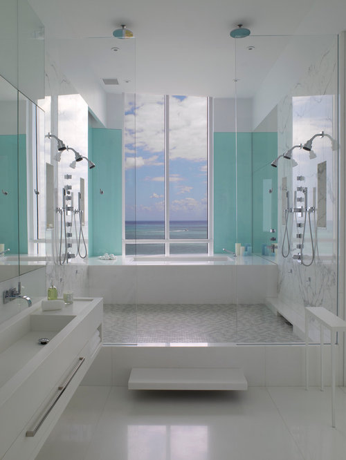 multiple shower heads home design ideas pictures remodel and decor