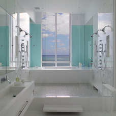 contemporary bathroom by Interiors & Architecture Photography by Ken Hayden