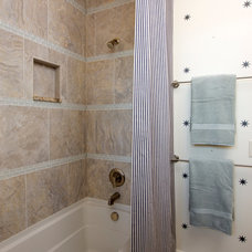 Transitional Bathroom by Romanelli & Hughes Custom Home Builders