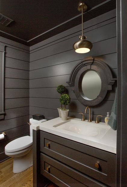 Transitional Bathroom by Romanelli & Hughes Custom Home Builders