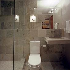 Bathroom by CG&S Design-Build
