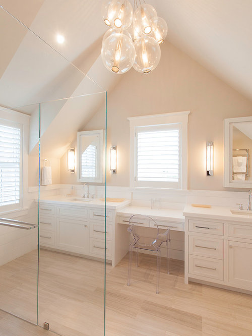 Peach bathroom home design ideas pictures remodel and decor Peach bathroom
