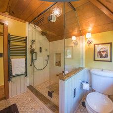 Rustic Bathroom by RTA Studio