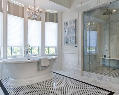 Master ensuite houzz Ensuite tile ideas pictures