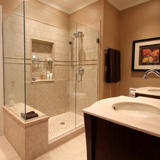 Traditional Bathroom by CREAM CITY CONSTRUCTION