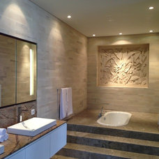 Tropical Bathroom by Seriously Designed