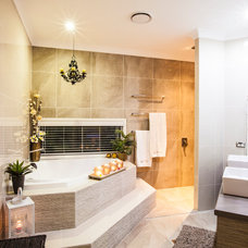 Contemporary Bathroom by Dan the Sparky Man