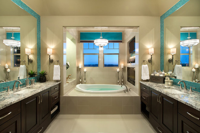 Traditional Bathroom by Mary DeWalt Design Group