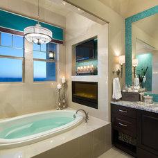 Traditional Bathroom by Mary DeWalt Design Group