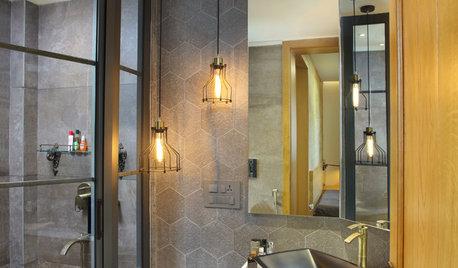A Renter's Life: Swish Bathroom Upgrades That Are Easy on the Pocket