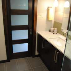 Modern Bathroom by Spencer's Contracting LLC