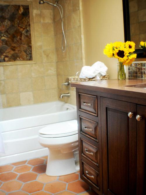Southwestern bath design ideas pictures remodel decor Southwestern style bathroom vanities