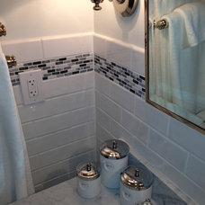 Traditional Bathroom by Stamford marble and tile