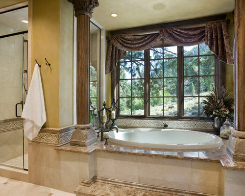 Houzz Garden Tub Design Ideas Remodel Pictures