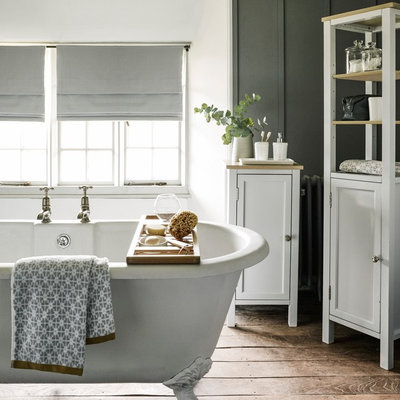 Rustic Bathroom by John Lewis