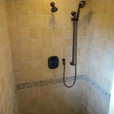 Rustic Bathroom by DJK Custom Homes