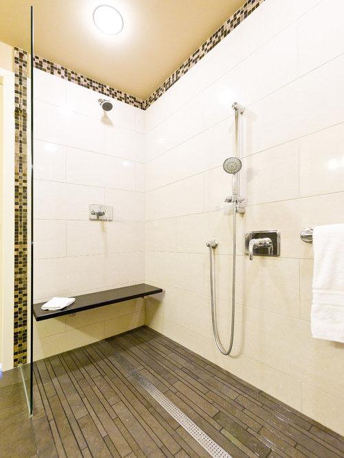 Idee e foto di stanze da bagno 12x12 nero marquina