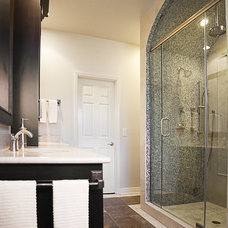 contemporary bathroom by cke interior design llc