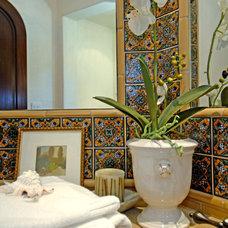 Mediterranean Bathroom by Joni Koenig Interiors