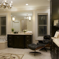 Traditional Bathroom by Joni Spear Interior Design