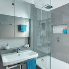 Luxury Apartment In Queen S Gate Contemporary Bathroom