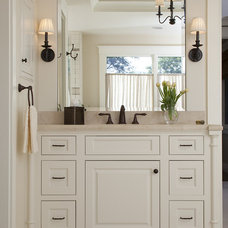 farmhouse bathroom by Joseph Farrell, Architect