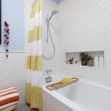 Modern Bathroom by Josephine Design LLC