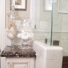 Traditional Bathroom by K & M Designs