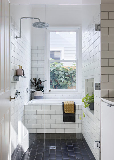Contemporary Bathroom by Mihaly Slocombe