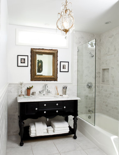 Bathroom By Design how to mix metal finishes in the bathroom