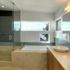 Contemporary Bathroom by Allied8 (formerly Verge AD)