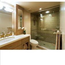 Traditional Bathroom by Solo Design, LLC