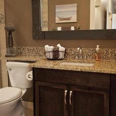 Traditional Bathroom by Urban Abode