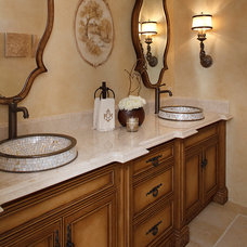 Traditional Bathroom by Julie Mifsud