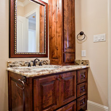Traditional Bathroom by Joseph Paul Homes