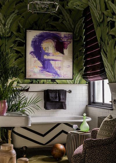 Eklektisk Badeværelse by Ana Donohue Interiors