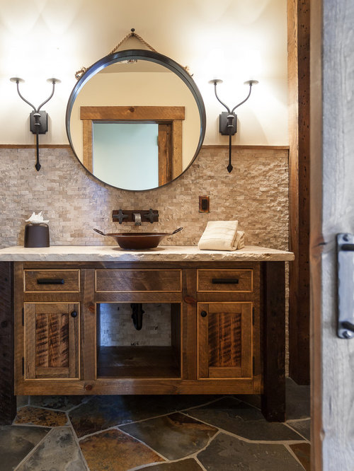 Rustic Backsplash Houzz