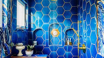 Justina Blakeney's Jungalicious Master Bathroom