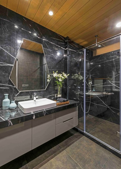 Contemporary Bathroom by Usine Studio