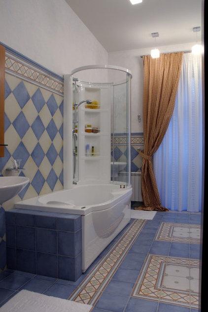 Traditional Bathroom by Zimina Inna