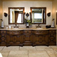 Mediterranean Bathroom by James Glover Residential & Interior Design