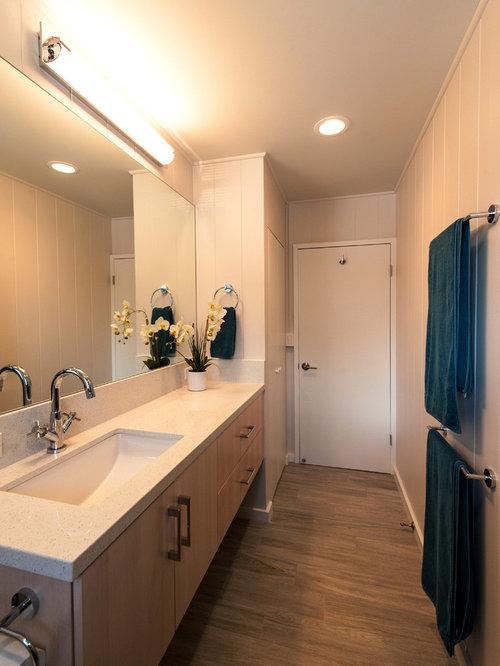 Bathroom design ideas renovations photos with bamboo for Two piece bathroom ideas