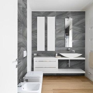 Kalahari HD Porcelain Series-Carbon 12x24  Wall Application